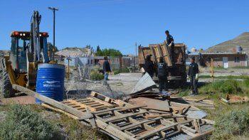 Desalojaron una ocupación del barrio Presidente Ortiz