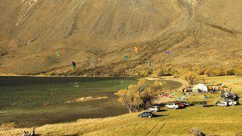 Todo listo para el encuentro de kitesurf y windsurf en Esquel