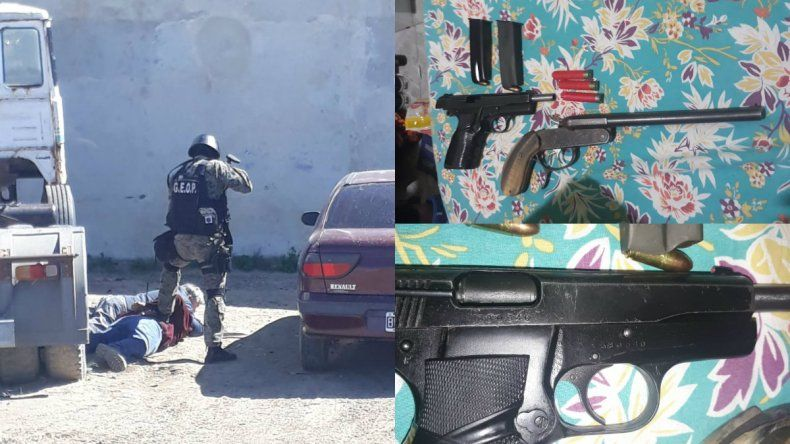 Recuperaron armas en el barrio Las Américas