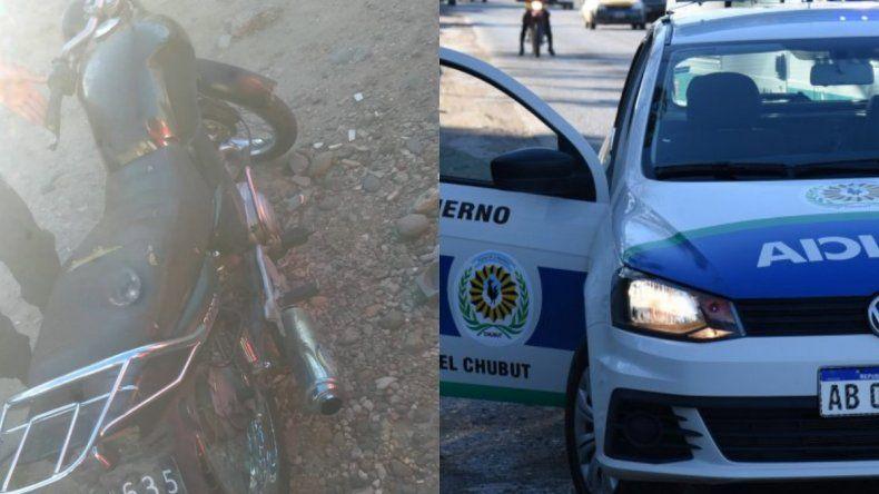 Dos adolescentes circulaban con una moto que tenía pedido de secuestro