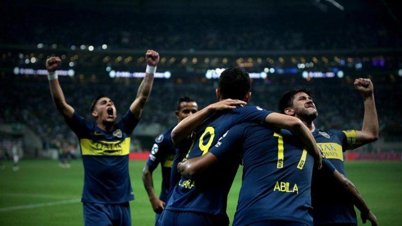 Las mejores fotos del empate de Boca en Brasil
