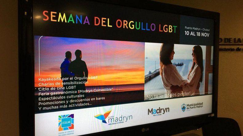 Madryn celebra la Semana del Orgullo LGBT con capacitación