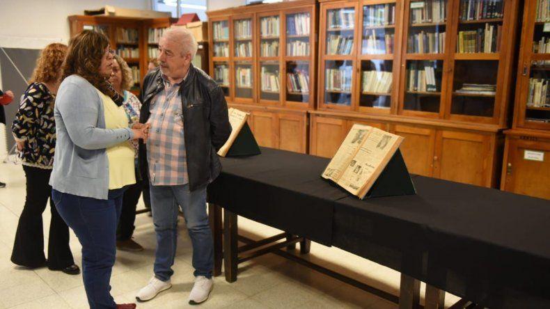 La presentación del plan de digitalización que encara la Biblioteca Pública Municipal.