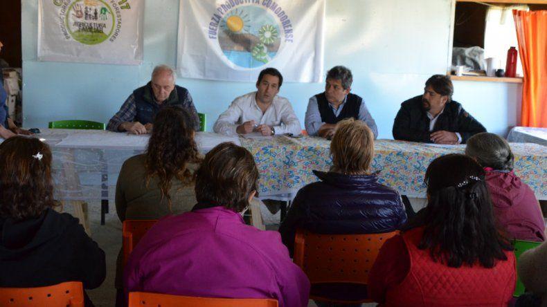Emprendedores rurales de Km 17 solicitan incentivos a la producción