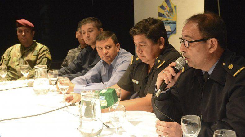 Altos oficiales detallaron ayer las actividades que se desarrollarán en Caleta Olivia