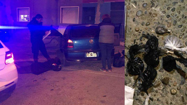 Secuestraron marihuana y una balanza en el barrio Las Flores