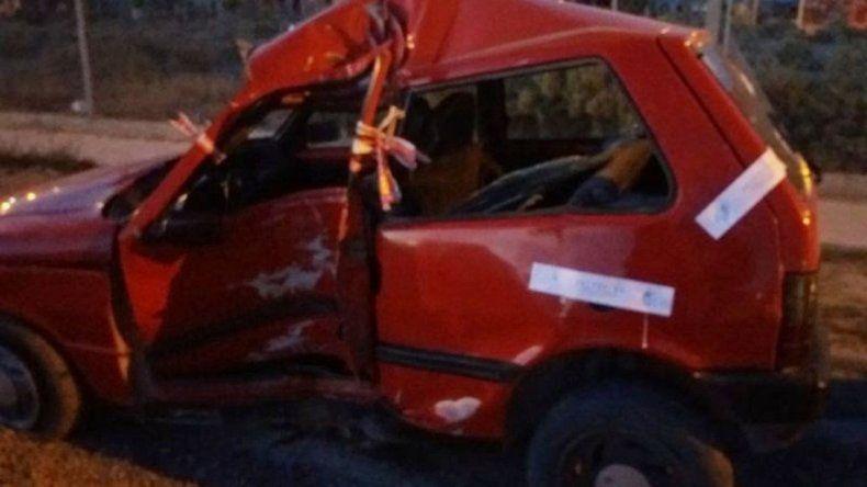 Accidente fatal en Madryn: un muerto y un herido grave