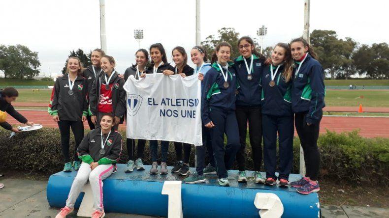 Destacada actuación chubutense en el Argentino de Atletismo