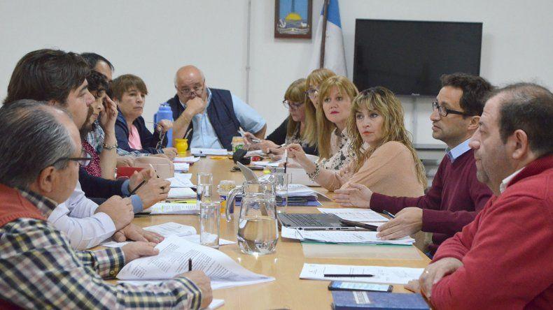 Las secretarías municipales exponen en el Concejo Deliberante