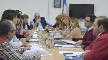 En plenario, los concejales tomaron nota de las demandas de tres áreas del Concejo.