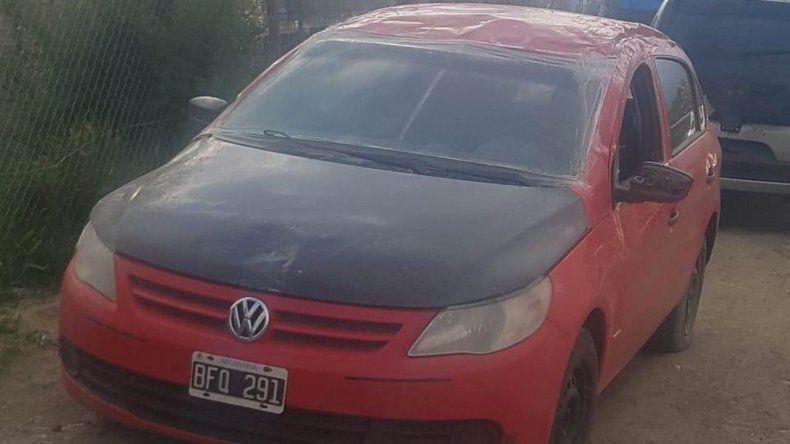 Secuestraron un auto con patente adulterada en Los Tres Pinos
