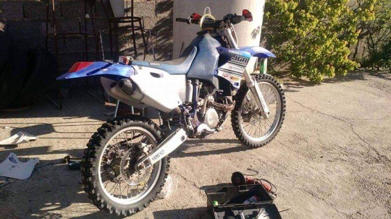 Robaron una moto en el barrio Pueyrredón