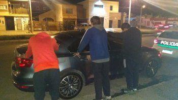 Secuestraron marihuana en una plaza del barrio Quirno Costa