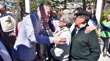 Arcioni encabezó el aniversario del Hogar de Ancianos de Sarmiento