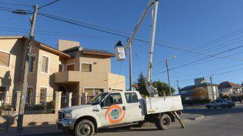 Corte de luz programado para ocho barrios de Comodoro