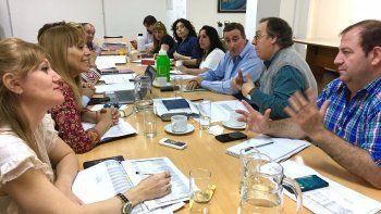 El plenario de ediles se reunió ayer con representantes de la Secretaría de Desarrollo Humano y Familia.