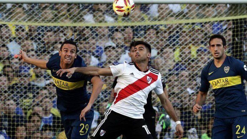 Leonardo Jara y Gonzalo Martínez estarán esta tarde como titulares en el Superclásico entre Boca y River.