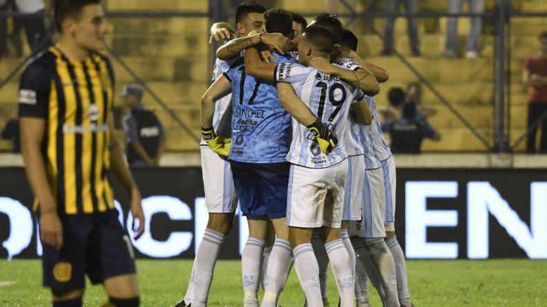 Atlético Tucumán venció a Rosario Central