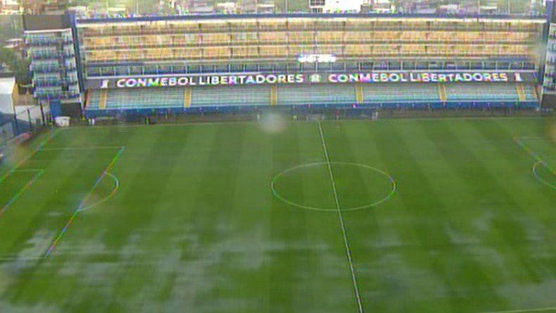 La primera final entre Boca  y River se jugará mañana