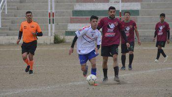 Escena del partido disputado entre Deportivo Portugués y Argentinos Diadema . (Foto: Angel Romero)
