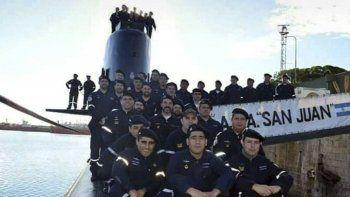Esta es una de las ultimas fotografías que se tomaron de los 44 submarinistas del ARA San Juan, de los cuales mañana se cumplirá un año de su desaparición.