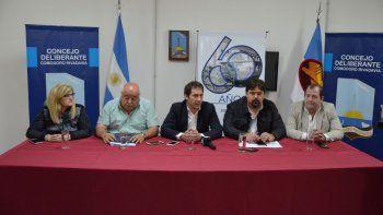 el concejo deliberante prepara la celebracion por sus 60 anos