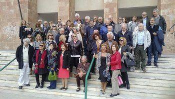 Exalumnos celebraron los 50 años de egreso del Colegio Perito Moreno.