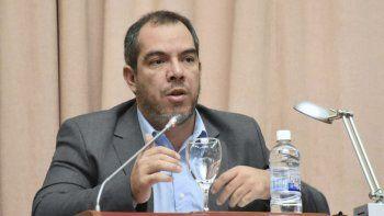 José Grazzini, titular de la Legislatura de Chubut.