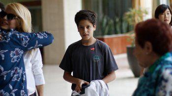 El hijo de Carlos Menem tiene un tumor cerebral