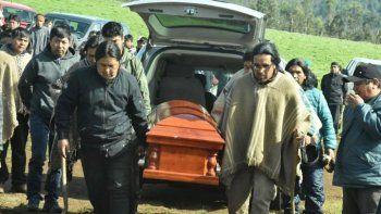 mataron a un mapuche de un disparo en la cabeza en medio de una represion