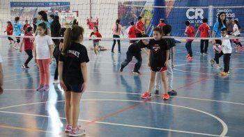 el mini voleibol cierra su temporada con el 7mo. encuentro zonal