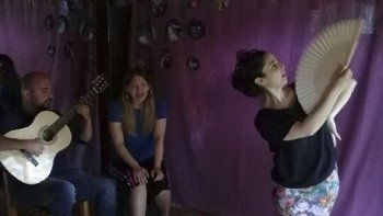 el teatro dislocador sera escenario  de un encuentro tablao flamenco