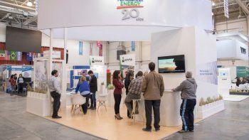 El stand que Pan American Energy presentó en la Expo del año pasado.