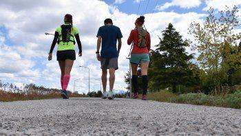 Nuevos circuitos de running y footing urbano en Esquel