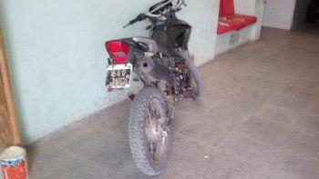 Un detenido y una moto recuperada en jurisdicción de la Seccional Tercera