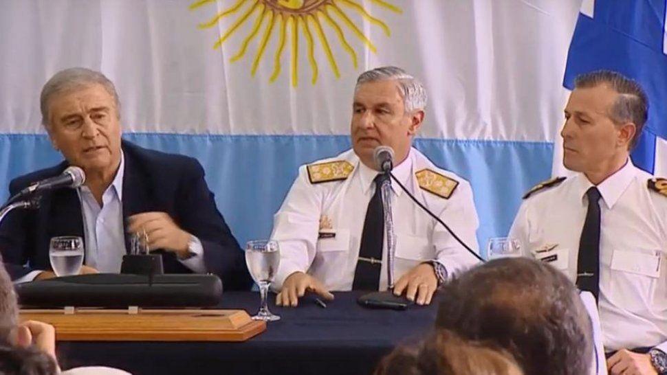 Aguad reconoció que el país no tiene los medios  para recuperar al ARA