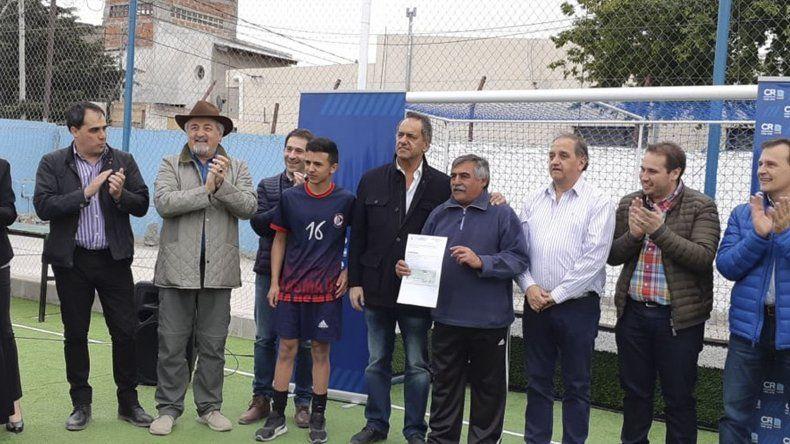 El club USMA fue beneficiado con 300 mil pesos