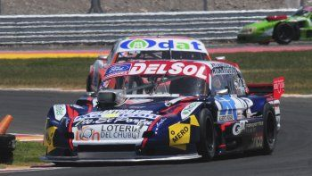 Marcelo Agrelo se ubicó cuarto ayer en la primera serie del TC Pista.