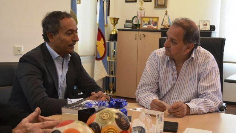 Linares recibió al embajador de Portugal