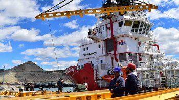 Comodoro está a disposición para rescatar al submarino