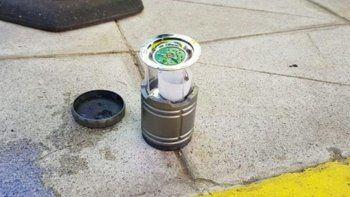evacuaron la embajada de estados unidos por un paquete con lamparas