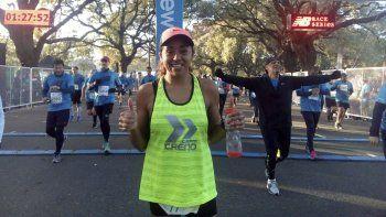 De triatleta a velocista, Iris Barrionuevo viaja hoy al CeNARD para ser parte del Nacional de Atletismo Master. Luego competirá en triatlón en los III Juegos Nacionales de Playa, Rosario 2018.