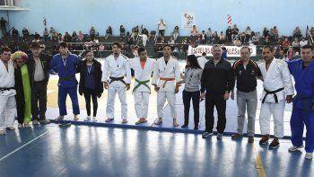 Referentes y funcionarios se dieron cita en el cierre del judo municipal.