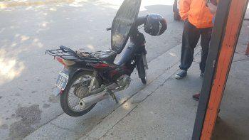 Secuestraron una moto robada