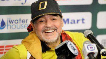 Maradona responsabilizó a Macri por los incidentes en el River - Boca