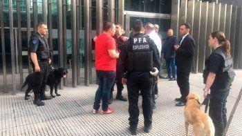 Evacuaron el Anexo de la Cámara de Diputados por una falsa amenaza de bomba
