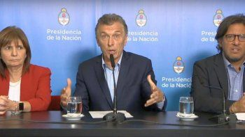 Macri: lo que pasó este fin de semana fue frustrante