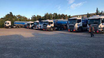 Camioneros paralizaron sus actividades por el paro nacional de CATT