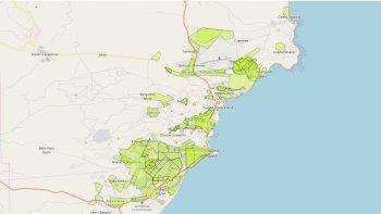 comodoro rivadavia tiene 166 barrios de denominacion popular