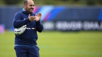 Mario Ledesma, entrenador de Los Pumas que mañana jugará un nuevo amistoso en Londres.